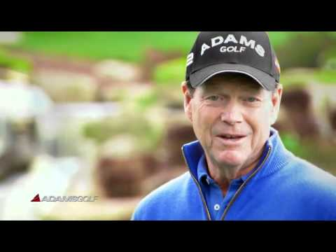 Adams Golf – Idea a12 OS Hybrid Irons with Tom Watson