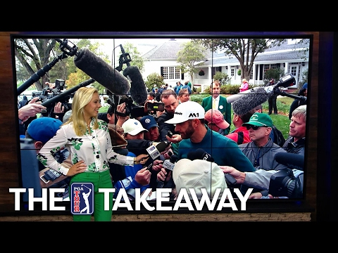 The Takeaway | DJ withdraws, Hoffman comes out hot & blustery Augusta
