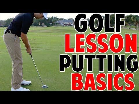 Golf Lessons   Putting Basics