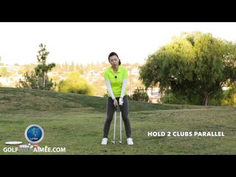 [Golf with Aimee] Aimee's Golf Lesson 015: Let's fix your Chicken Wing!
