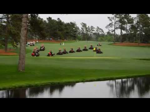 Masters Practice Round – Mowing #15