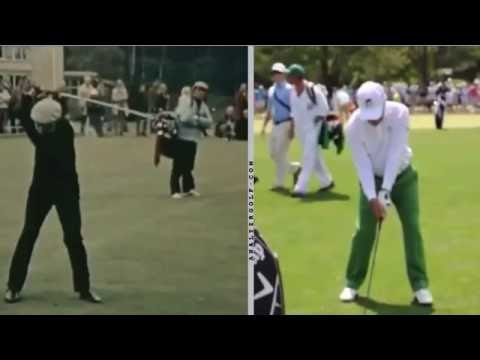 Gary Player – Young and Old Swing Analysis