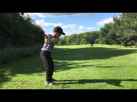 5 Year Old Junior Golf Prodigy-Jaxson Perry shoots 1 over par 55 Kendleshire Par 3 Academy – Par 54