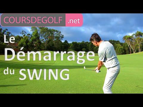Cours de golf vidéo : Le démarrage du swing par Renaud Poupard