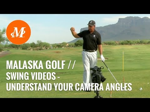 Malaska Golf // Golf Swing Video // Understand Your Camera Angles