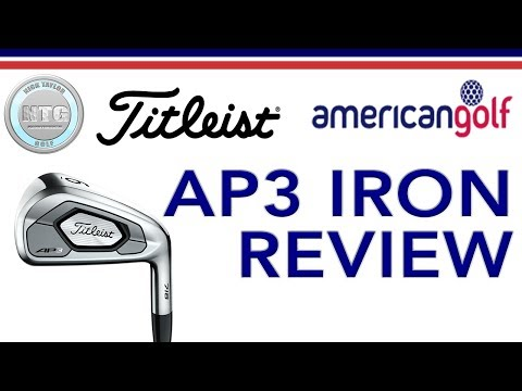 Titleist 718 AP3 | Review | American Golf