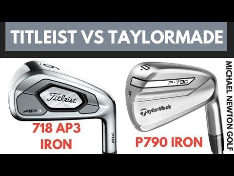 Titleist 718 AP3 Iron VS TaylorMade P790 Iron – Head To Head 2019