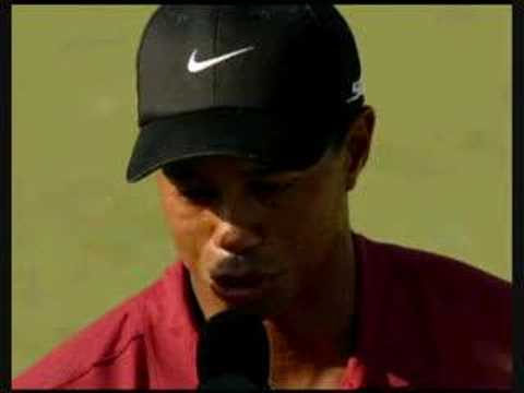 2007 USPGA Champion: Tiger Woods