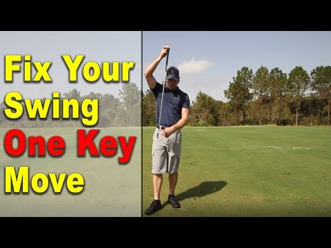 BEST GOLF LESSON | Fix Your Golf Swing w/ 1 Key Move