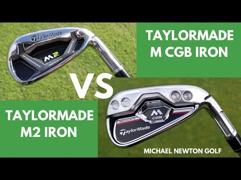 TaylorMade M CGB Iron VS TaylorMade M2 Iron Head To Head