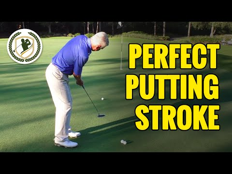 GOLF PUTTING TIPS – THE PERFECT GOLF PUTTING STROKE TECHNIQUE