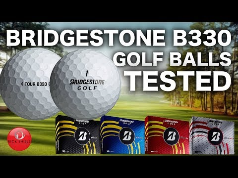 BRIDGESTONE B330 GOLF BALL REVIEW & FULL TESTING