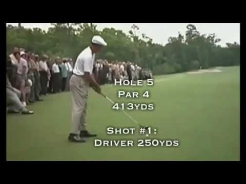 Ben Hogan – Club Distances