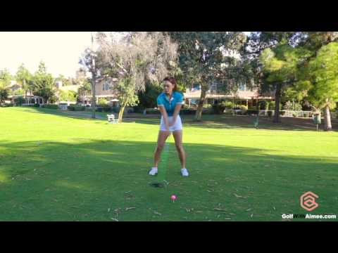 [Golf with Aimee] Driver Lesson 033: Use Abs to Drive it Longer!