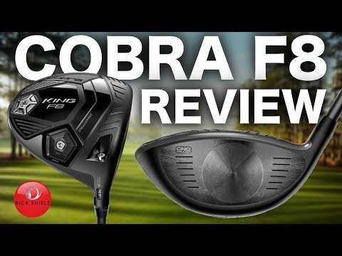 NEW COBRA F8 DRIVER REVIEW – RICK SHIELS