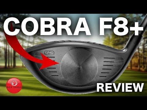 NEW COBRA F8+ DRIVER REVIEW – RICK SHIELS