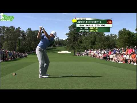 Champion Jordan Spieth's Best Golf Shots from 2015 Masters
