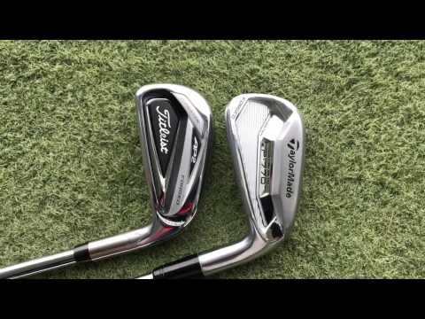 Titleist 716 AP2 Iron v TaylorMade P770 Iron – Head To Head