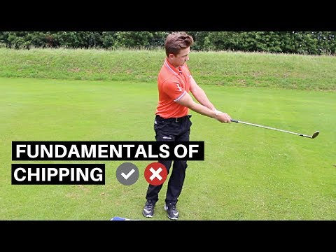 GOLF LESSON: HOW TO CHIP THE BALL BETTER IN GOLF
