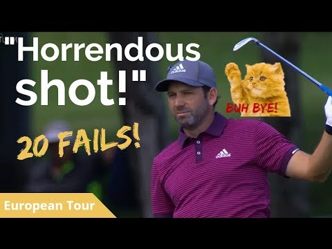 SOUNDED CHUNKY! 20 Golf Shot Fails 2017 Australian PGA Championship European Tour