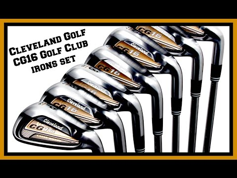 Cleveland Golf CG16 Golf Club irons set & what it is worth