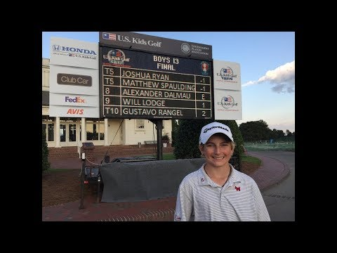 Will Lodge (13 yr old – Long Version) – 2017 US Kids Golf World Championship