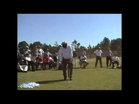 Moe Norman Private Golf  Ballstriking Exhibition 2001 Orlando – Best Moe Video!