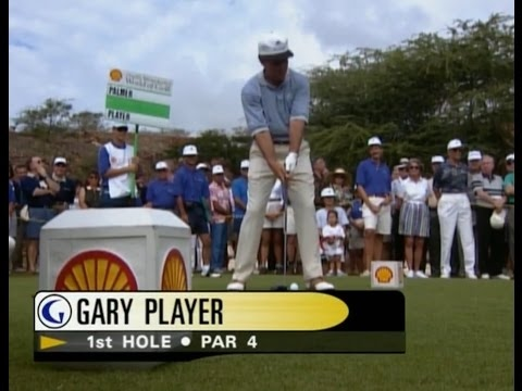 Gary Player & Arnold Palmer / The Challenge At Manele Golf (Part 1/2)