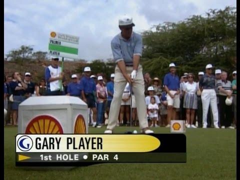 Gary Player & Arnold Palmer / The Challenge At Manele Golf (Part 1/2)