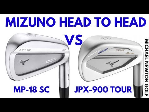 Mizuno MP-18 SC Iron VS Mizuno JPX-900 Tour Iron Head To Head