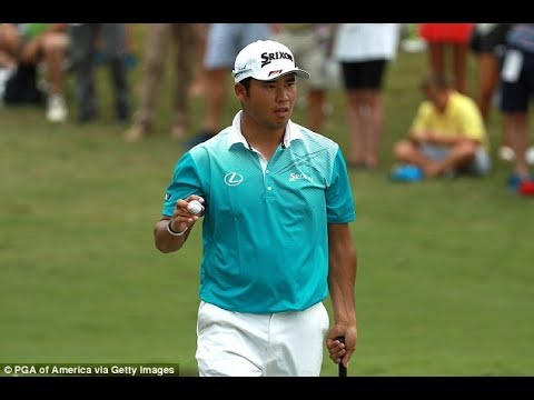 Hideki Matsuyama takes share of the lead at the USPGA