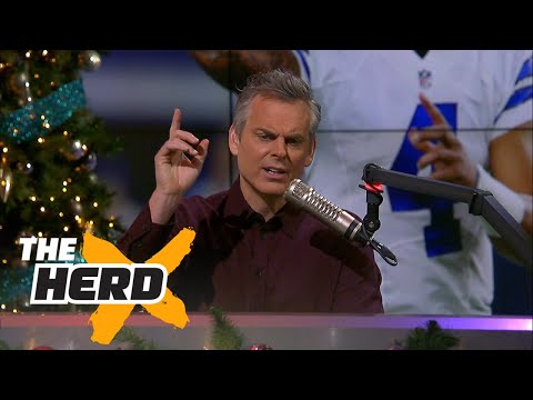 Colin Cowherd discusses the Dallas Cowboys and NFL replay policy | THE HERD