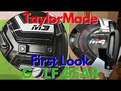 Golf Gear – TaylorMade M3 & M4 First Look!