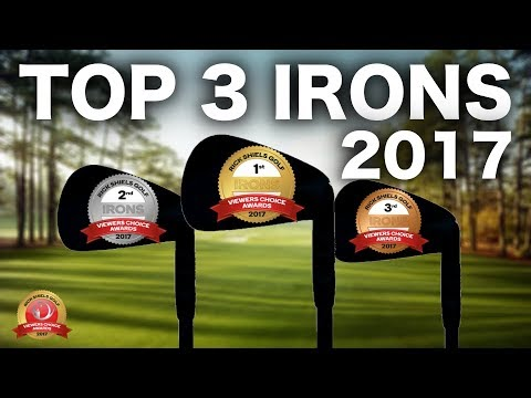 THE TOP 3 GOLF IRONS OF 2017