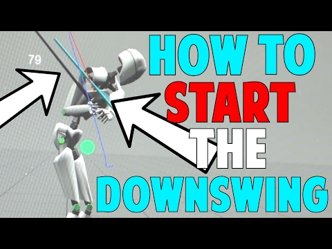 "How to Start Your Downswing in Golf (""The Move"" in 3D)"