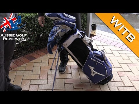 JOSH BEVAN MIZUNO WITB whats in the bag