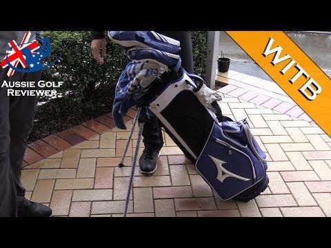 JOSH BEVAN MIZUNO WITB whats in the bag