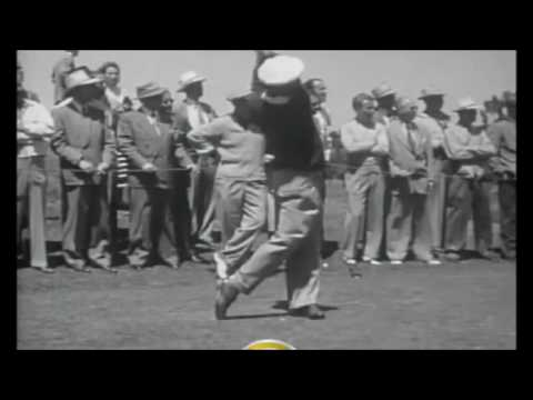 Ben Hogan Swing 1948 – Slow Motion And Very Clear