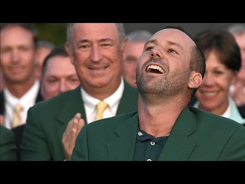 Garcia Introduced As Masters Champion | The Masters Golf Tournament