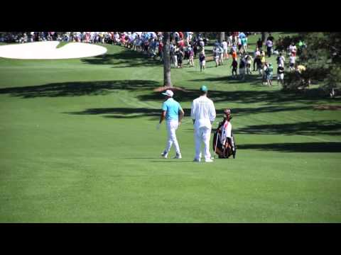 Rickie Fowler's Practice Round at Augusta National for the Masters