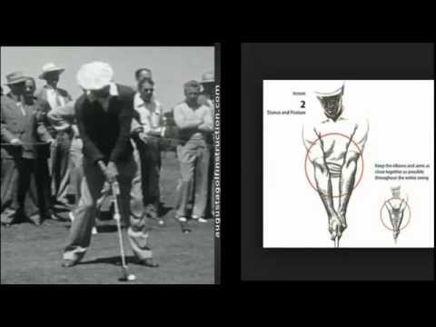 Ben Hogan Address Arms