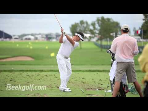 Y.E. Yang Swing (Round Four) @ 2009 US PGA