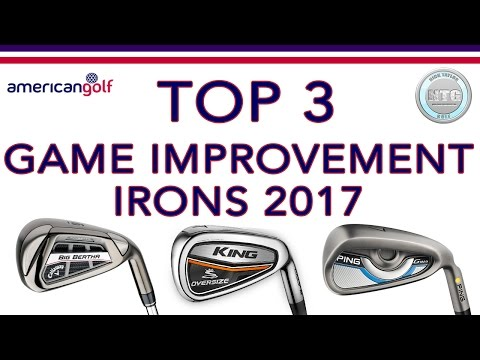TOP 3 Game Improvement irons in 2017   Review   American Golf