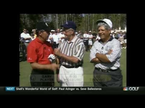 Lee Trevino vs Gary Player – At World Golf Village (Part 1/2)