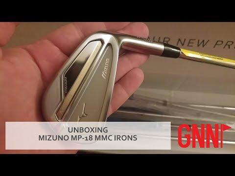 UNBOXING: Mizuno MP-18 MMC irons