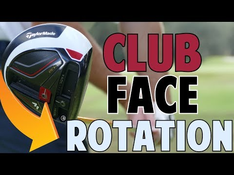 Club Face Rotation in Golf