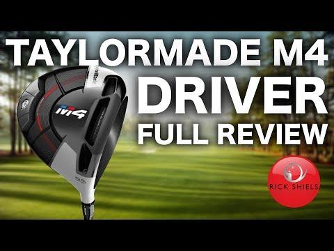 TAYLORMADE M4 DRIVER FULL REVIEW – RICK SHIELS