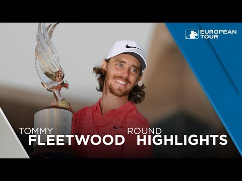 Tommy Fleetwood wins the 2018 Abu Dhabi HSBC Golf Championship | Final Round Highlights