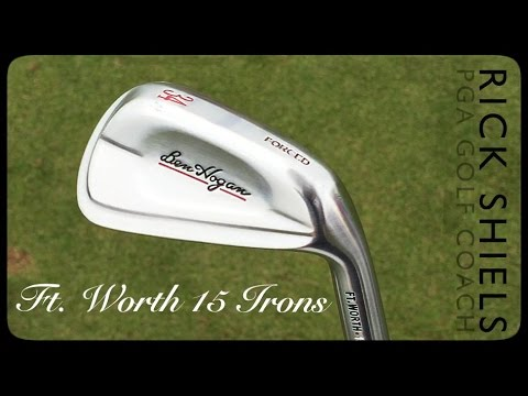 BEN HOGAN FT. WORTH 15 IRONS REVIEW