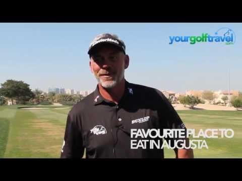 Darren Clarke talks about The Masters at Augusta National Golf Club